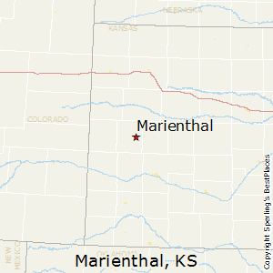 Marienthal,Kansas Map
