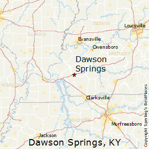 dawson springs singles Dawson springs police public announcement: the dawson springs police department has recived information that hwy 62 east at the 165 mile marker, between dawson springs and princeton, will be closed fro repair for approximately 1.