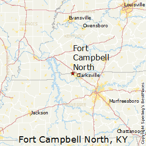 Fort_Campbell_North,Kentucky Map