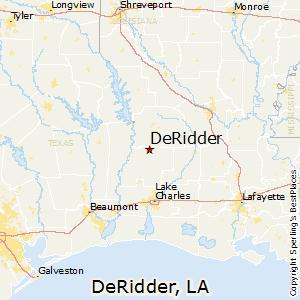 Comparison Jennings Louisiana DeRidder Louisiana