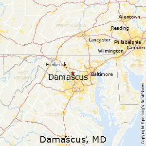 Best Places to Live in Damascus Maryland