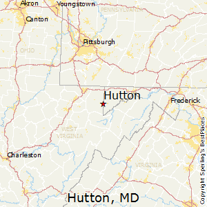 Hutton,Maryland Map