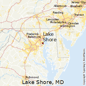 Lake_Shore,Maryland Map