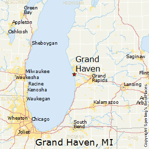 Grand_Haven,Michigan Map