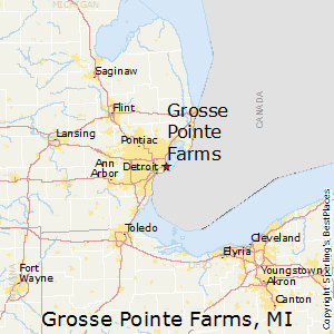 Grosse_Pointe_Farms,Michigan Map