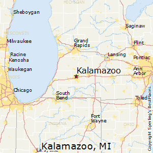 Comparison: Kalamazoo, Michigan   Comstock Northwest, Michigan
