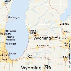 Wyoming,Michigan Map