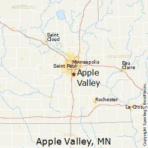 Apple_Valley,Minnesota Map