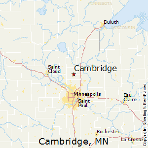 Comparison Isanti Minnesota Cambridge Minnesota - Where is cambridge