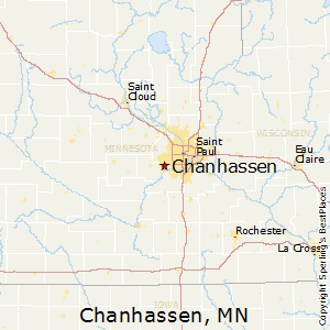 Chanhassen,Minnesota Map