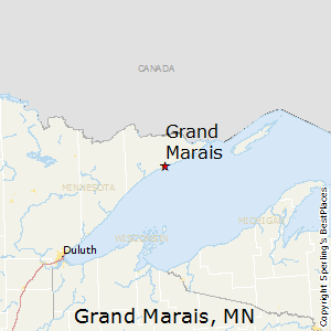 Grand_Marais,Minnesota Map