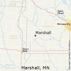 Comparison Yankton South Dakota Marshall Minnesota