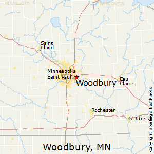 Woodbury,Minnesota Map