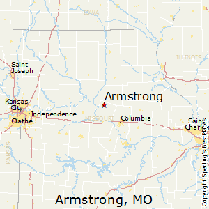 Armstrong,Missouri Map