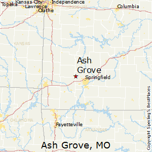 Ash_Grove,Missouri Map