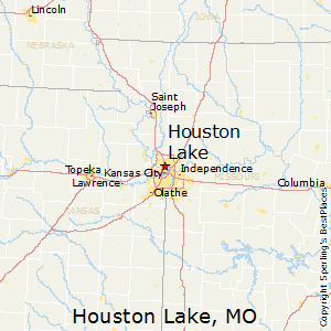 Houston_Lake,Missouri Map