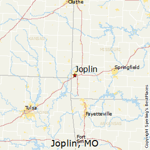 Joplin,Missouri Map