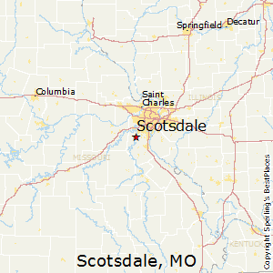 Scotsdale,Missouri Map