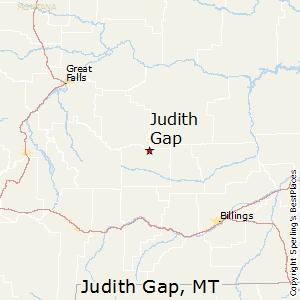Judith_Gap,Montana Map
