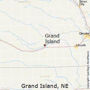 Grand_Island,Nebraska Map