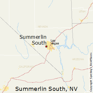 Summerlin_South,Nevada Map