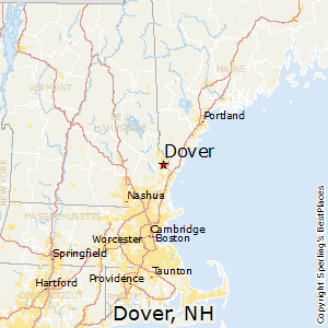 Dover,New Hampshire Map