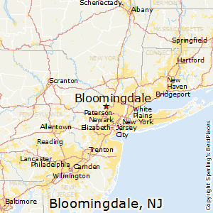 Bloomingdale,New Jersey Map