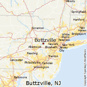 Buttzville,New Jersey Map
