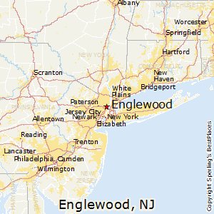Englewood,New Jersey Map