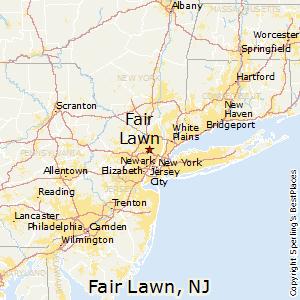Fair_Lawn,New Jersey Map