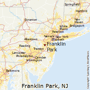 Franklin_Park,New Jersey Map