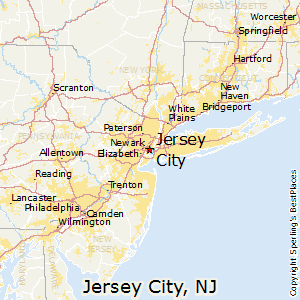 Jersey_City,New Jersey Map
