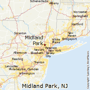 Midland_Park,New Jersey Map