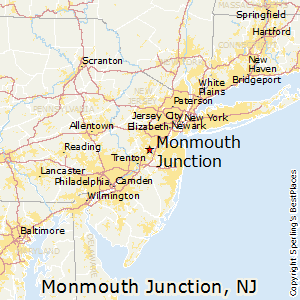 Comparison Norristown Pennsylvania Monmouth Junction New Jersey
