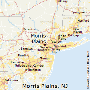Morris_Plains,New Jersey Map