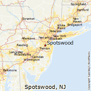 Spotswood,New Jersey Map