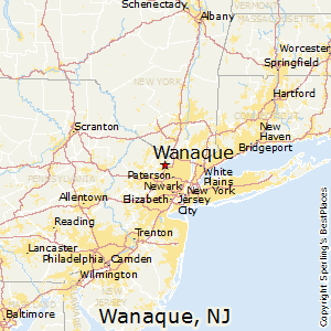 Wanaque,New Jersey Map