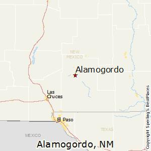 Alamogordo,New Mexico Map
