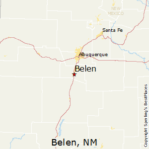 Belen,New Mexico Map