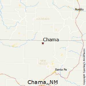 Chama,New Mexico Map
