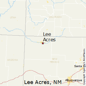 Lee_Acres,New Mexico Map