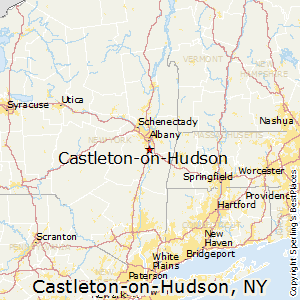 Castleton-on-Hudson,New York Map