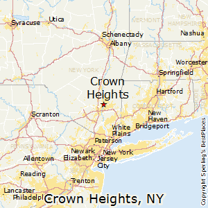 Crown_Heights,New York Map