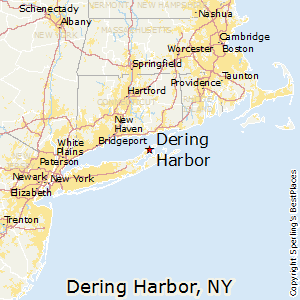 Dering_Harbor,New York Map