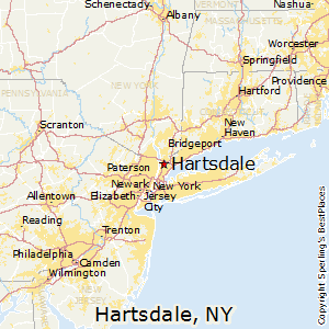 Hartsdale,New York Map