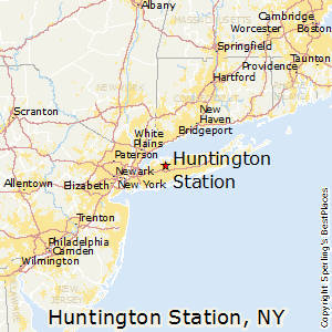 Huntington_Station,New York Map