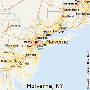 Malverne,New York Map