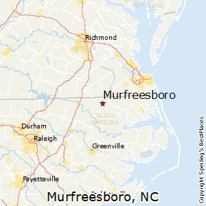 Murfreesboro,North Carolina Map