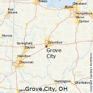 Grove_City,Ohio Map
