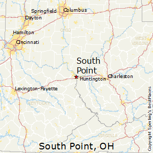 South_Point,Ohio Map